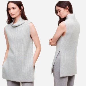 WILFRED Durandal Wool Sweater with Side Slits -XXS